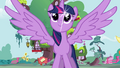 Princess Twilight outstretches her wings S4 opening.png