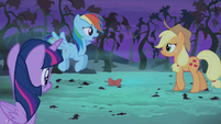 "Rainbow Dash ""your whole crop will be gone"" S4E07"