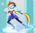 Rainbow Dash Friendship Power ID EGFF