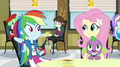 Rainbow Dash looking toward Fluttershy EG2.png