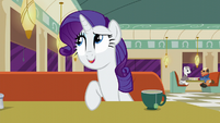 Rarity --and one in Canterlot-- S6E9