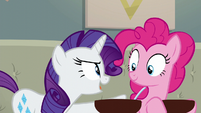 Rarity --we are the perfect team for this!-- S6E12