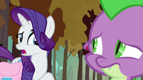 Rarity -that does look uncomfortable- S8E11
