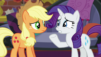 Rarity -what are you suggesting-- S5E16