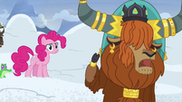 Rutherford -snow falls from mountain all the time!- S7E11