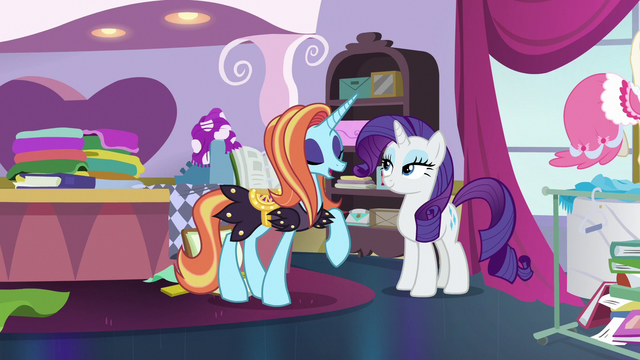 "File:Sassy Saddles ""my most certain pleasure!"" S7E6.png"