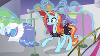 Sassy surprised by Rarity's other dresses S5E14