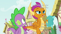 "Smolder ""dragons don't really use pillows"" S8E24"