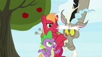 """Spike """"because you have a big mouth"""" S9E23"""