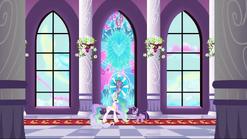 Spike stained glass window S3E2