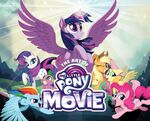 The Art of My Little Pony The Movie cover