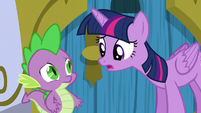 Twilight -I'm glad you opened your big mouth- S5E12