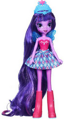 Twilight Sparkle Equestria Girls Through The Mirror doll