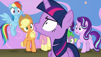 "Twilight Sparkle angrily shouts ""no!"" S8E7"