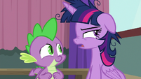 Twilight Sparkle getting another idea S9E16