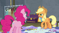 "Applejack ""keep your special effects away"" S8E7"