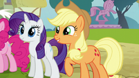 Applejack --I like the sound of that!-- S5E22