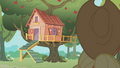 Applejack approaching the clubhouse S01E18.png
