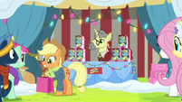 Applejack pleased with her purchase MLPBGE