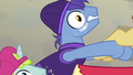 Backup dancer pony starting to lose his grip S7E8.png