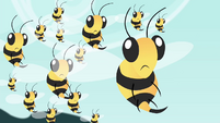 Bees surprised S4E16