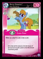 Berry Dreams, Pom-Pom Pony card MLP CCG