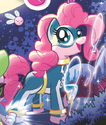 Comic issue 3 Superhero Pinkie