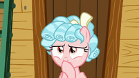 Cozy Glow in deep thought S8E12