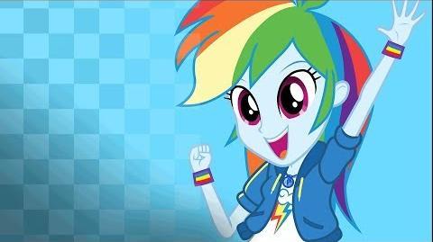 Fiesta de Felices Para Siempre - Elige Rainbow Dash