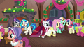 Flutterholly and Merry hears knocking and heads to the door S06E08.png