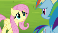 "Fluttershy ""hate to see you disappointed"" S4E22"