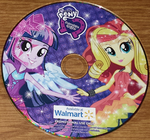 MLP Equestria Girls Walmart single CD