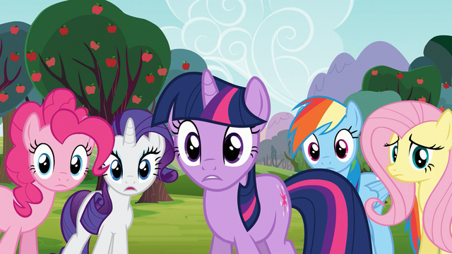 Файл:Main 5 concerned for Applejack and Spike S03E09.png