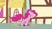 Pinkie Pie Stomping On Crankys Wig S02E18