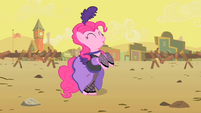Pinkie Pie again dancing S01E21