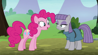 Pinkie Pie excited -I don't know- S8E3