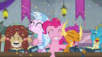 Pinkie Pie laughing with her students S8E1