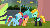 "Rainbow Dash ""you're comin' with me!"" S8E20"