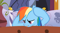 Rainbow Dash aggravated S1E09