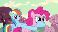 Rainbow Dash sinister smile S2E14
