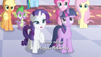 Rarity and Twilight -captured your regality- S4E01