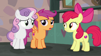 "Scootaloo adding ""downright ridiculous"" S7E8"