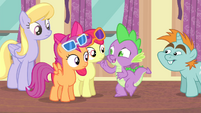 Spike -cheer up- S4E19