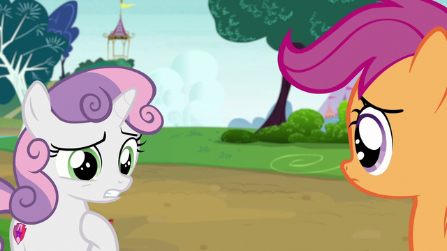 "File:Sweetie Belle ""I see what you mean"" S7E6.png"