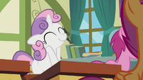 Sweetie Belle pleased with herself S2E23