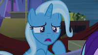 Trixie trying to wake up Starlight S8E19