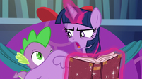 Twilight --I think what Spike is trying to say-- S06E08
