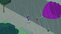 Twilight Sparkle loses her umbrella SS6