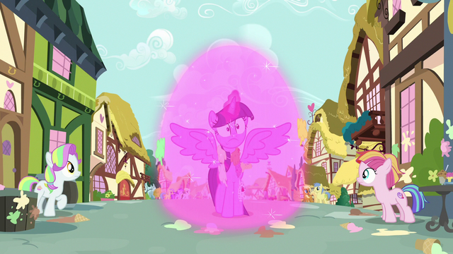 File:Twilight Sparkle projects a magical barrier S7E14.png