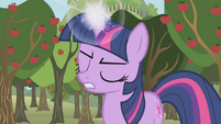 Twilight about to teleport S1E04